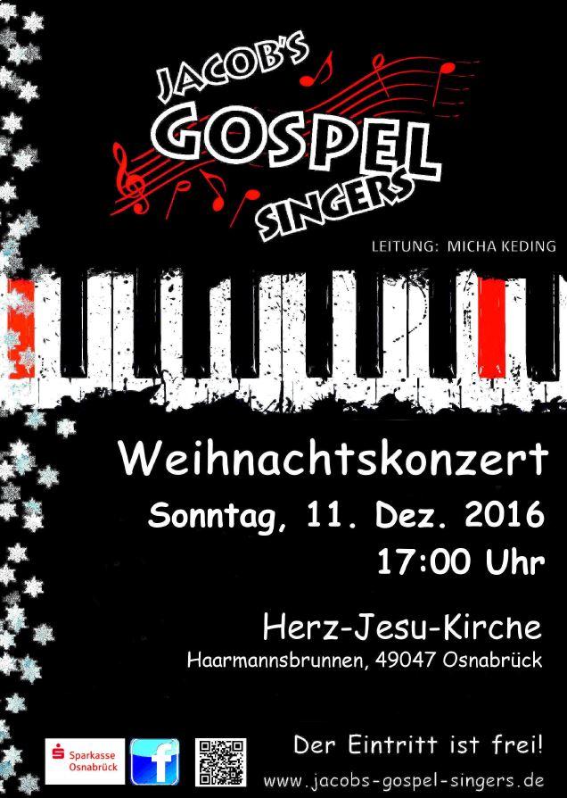 Weihnachtskonzert in der Herz-Jesu-Kirche